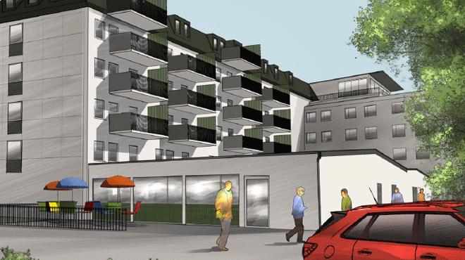 31 nya hyreslägenheter på drottninggatan 1 i Karlstad